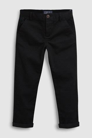 Figo - Black Chino Pants