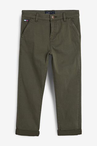 Figo - Green Chino Pants