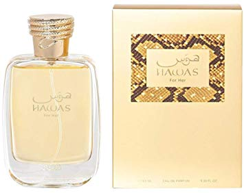 Rasasi Hawas for Women EDP - Eau De Parfum 100ML