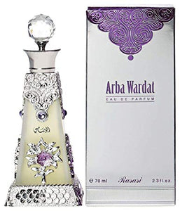 Arba Wardat by Rasasi for Women - Eau de Parfume, 70 ml
