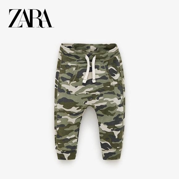 ZR - camouflage Print Trouser