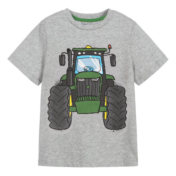 JD - Grey Tractor T-Shirt
