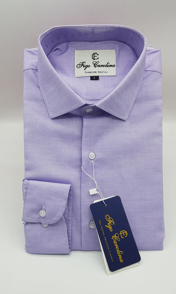 Lilac Formal Shirt - Figo & Co.