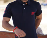Navy Classic Pique Polo - Figo & Co