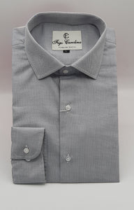 Mid Grey Formal Shirt - Figo & Co.