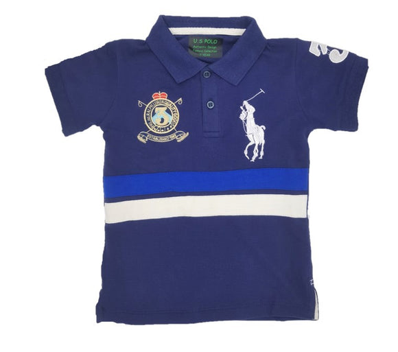 RL - Navy Big Pony Polo