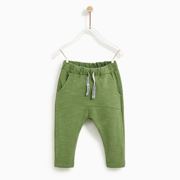 ZR - Green Harem Trouser