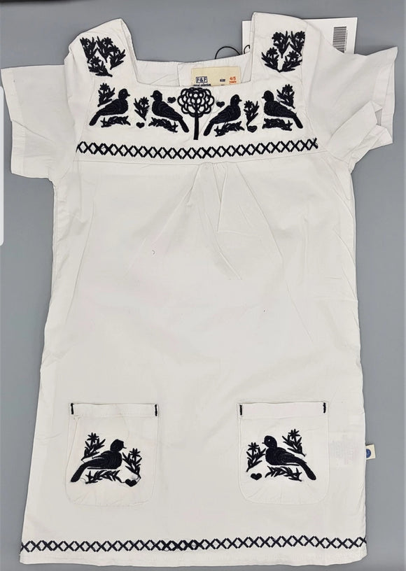 FnF - White Embroidered Top