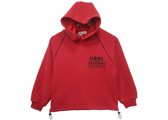 IMPORTED - Red ORBL Sweater Hoodie