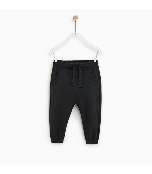 ZR - Plain Black Trouser