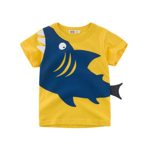 27K - Shark Tail Yellow T-Shirt