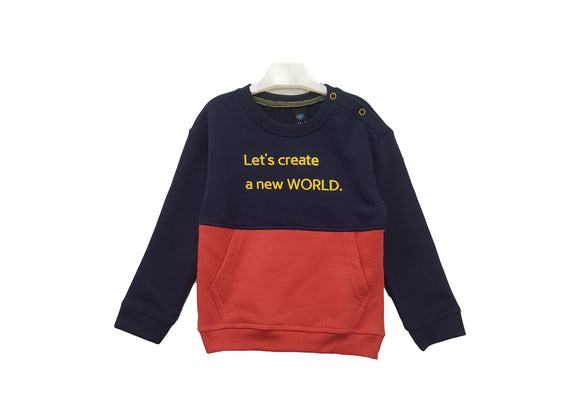 IA  - Create New World Sweat Shirt