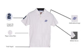White Classic Pique Polo - Figo & Co