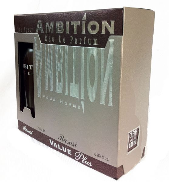AMBITION EDP + DEO - Perfume For Men - 70 ml