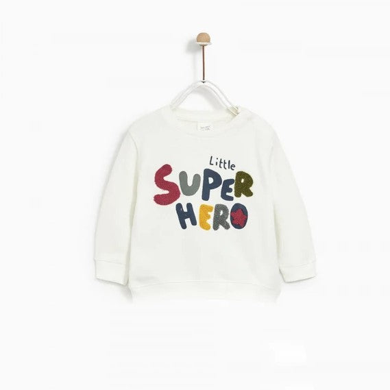ZR - Little Super Hero  Sweat Shirt