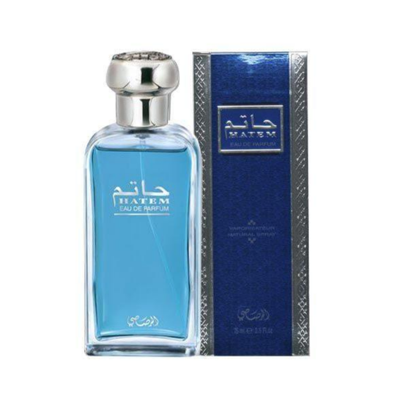 Hatem by Rasasi for Men - Eau de Parfum, 75 ml