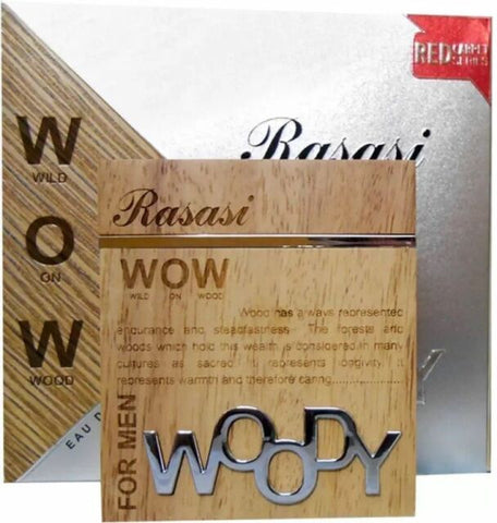 Woody By Rasasi For Men - Eau De Perfume,60 ml