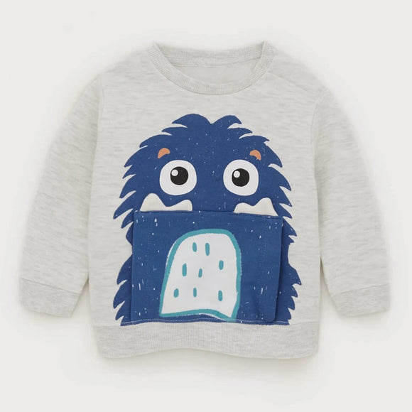 ZR - Blue Monster Sweat Shirt