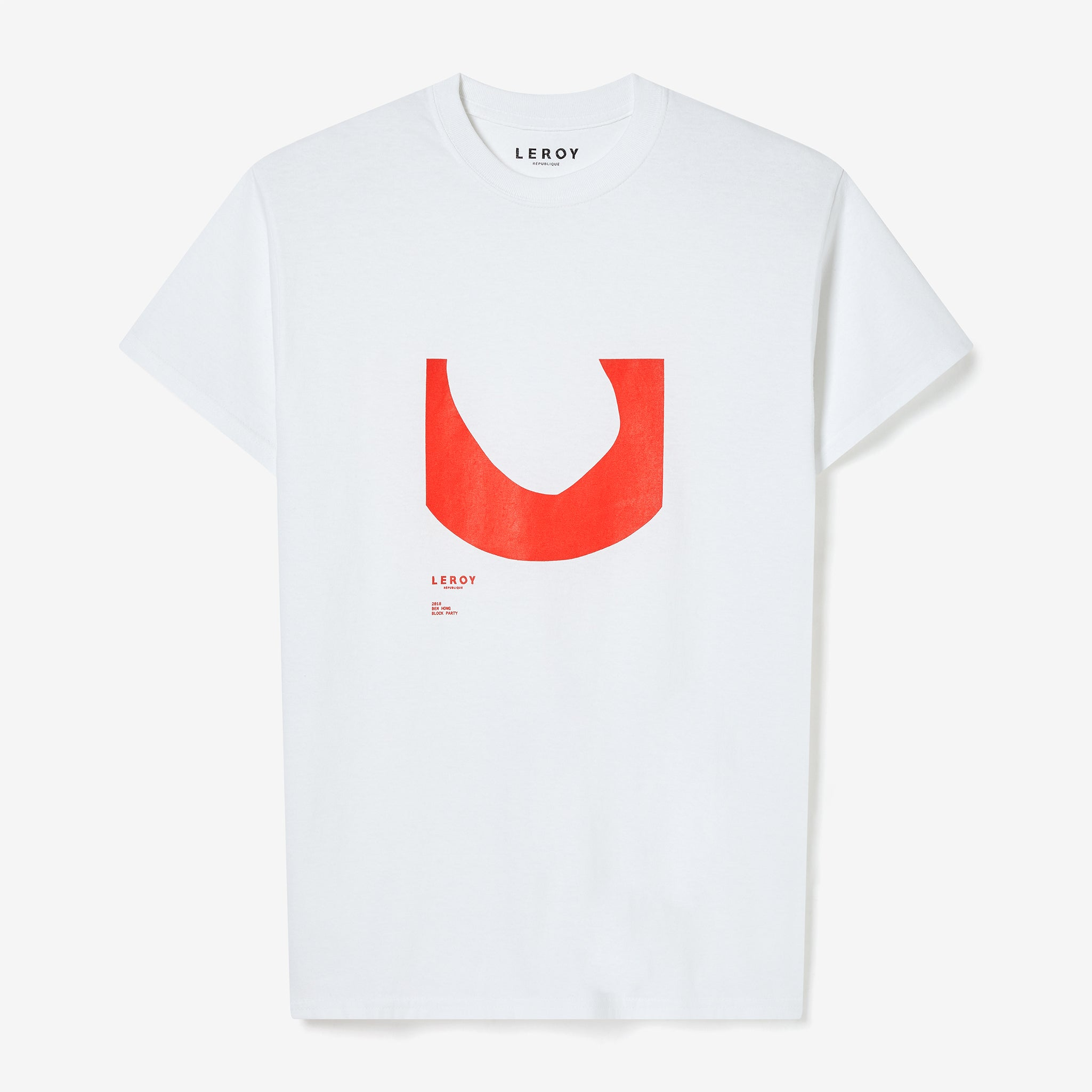 Ditch bright red T-shirt