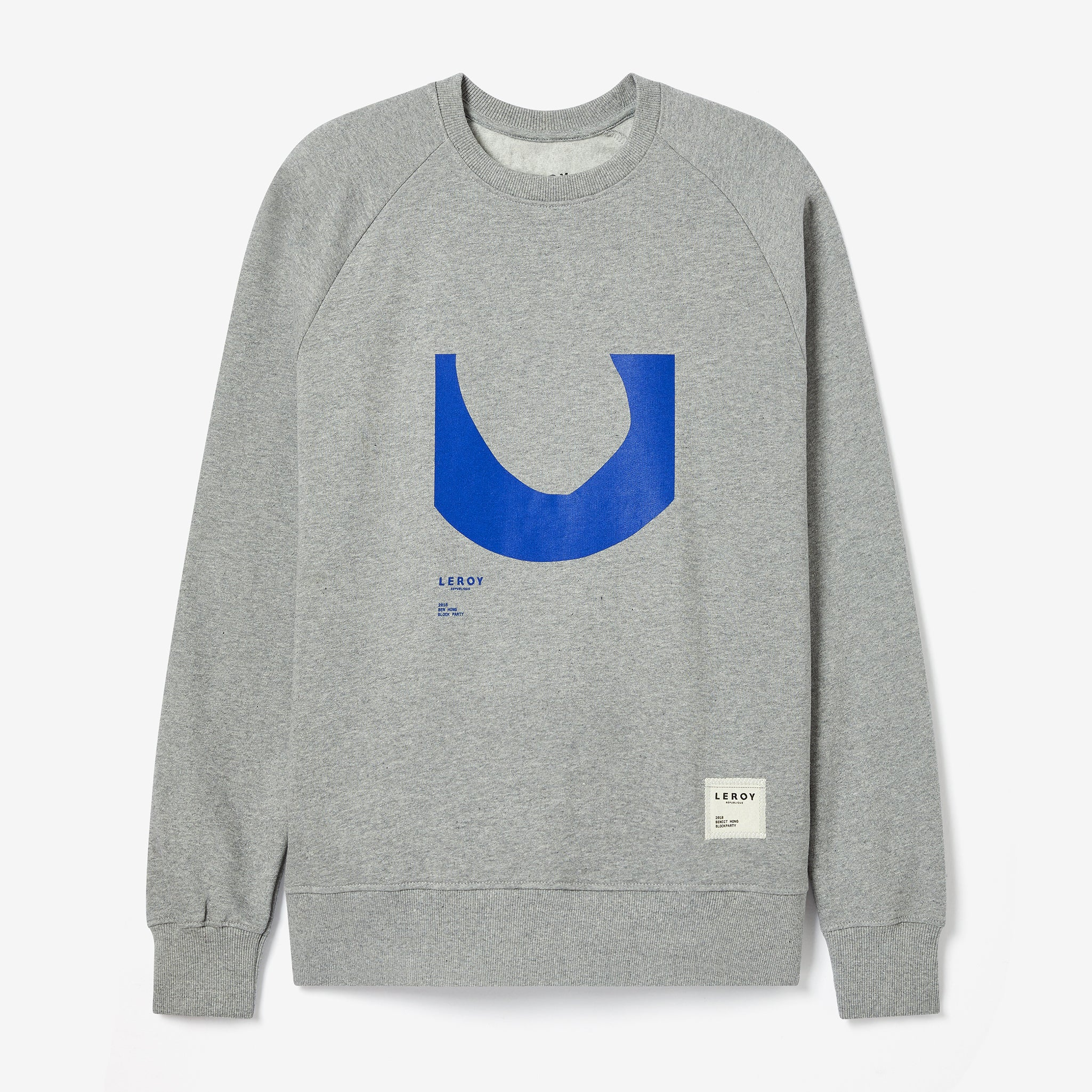Ditch klein blue crew neck