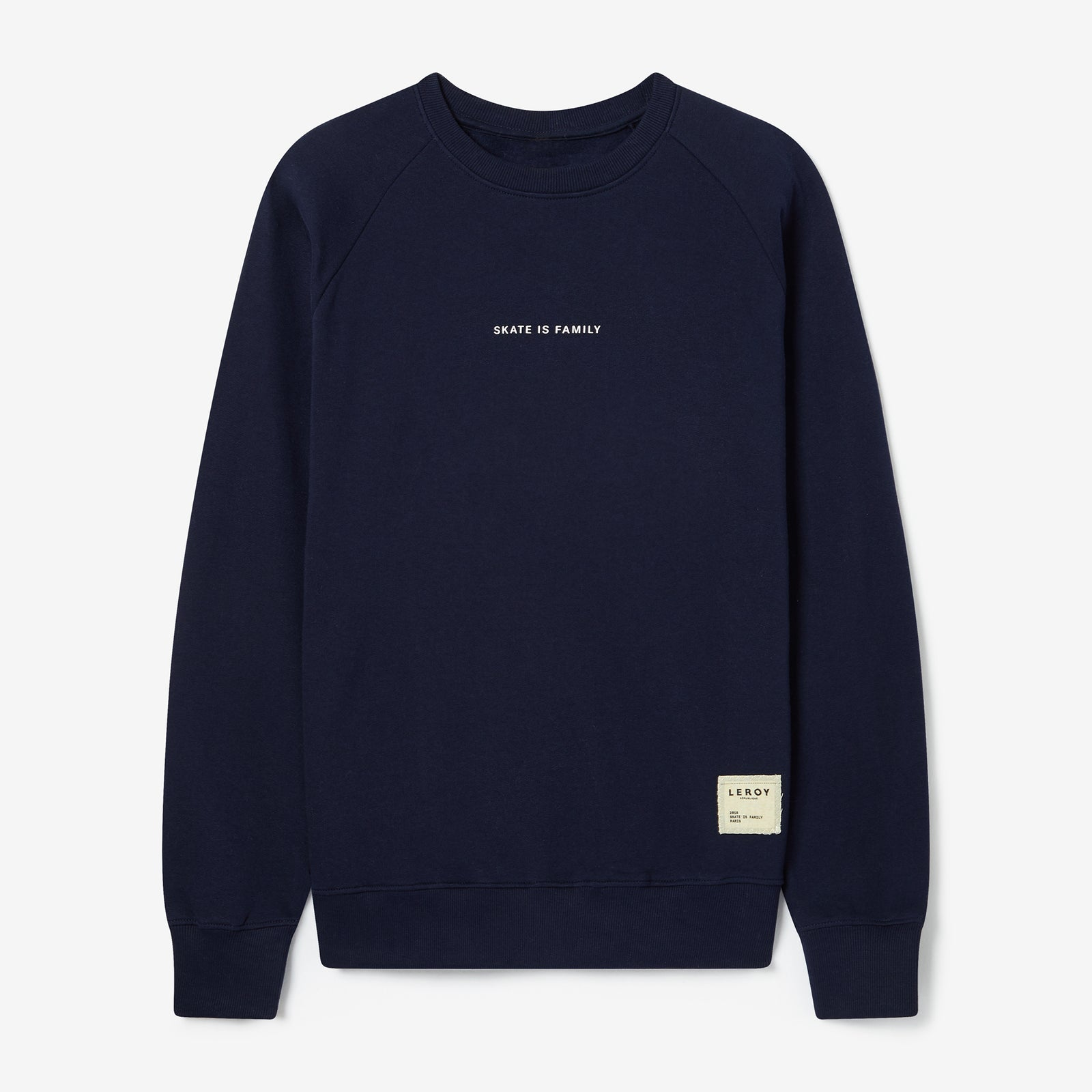 Skate is family crew neck