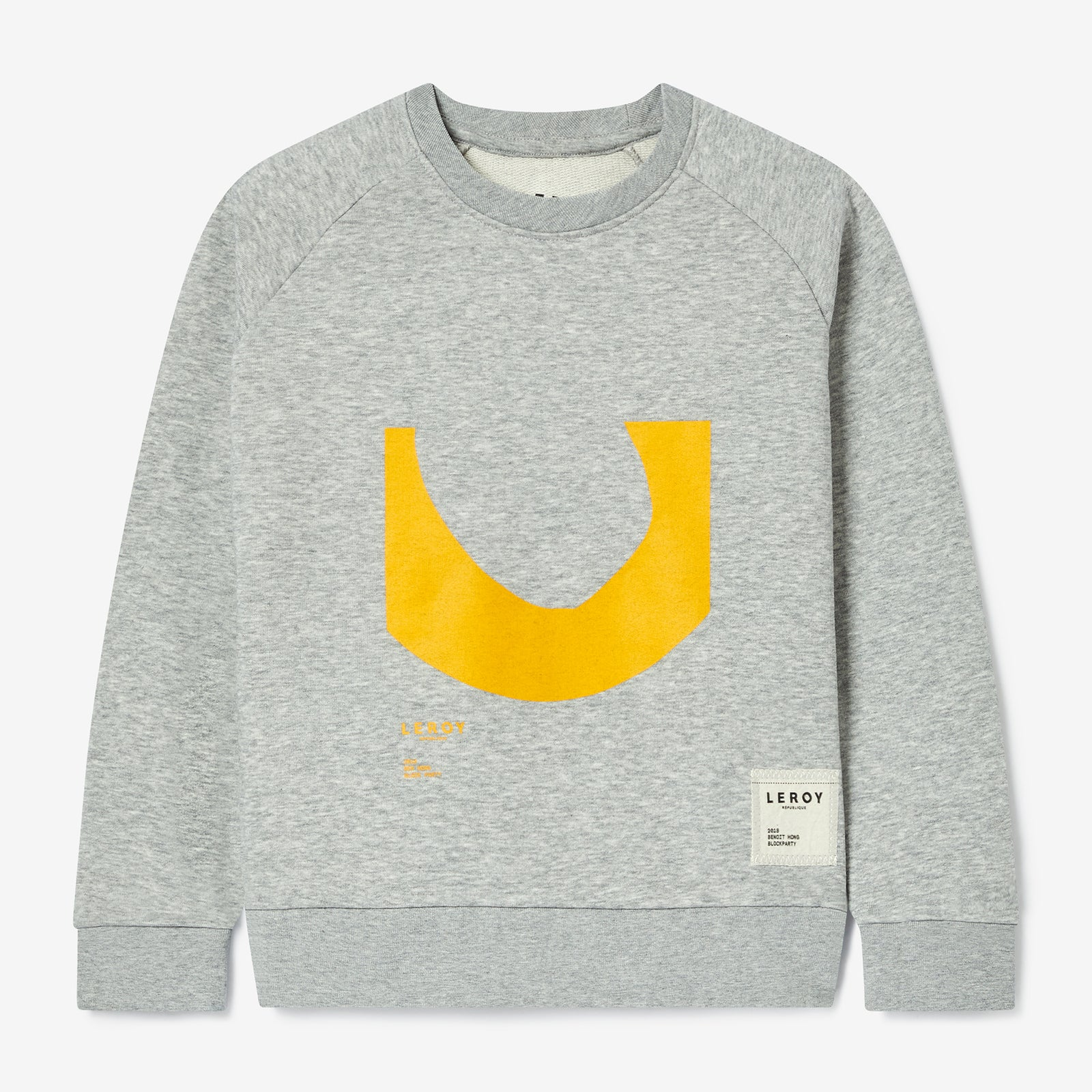 Ditch kid crew neck