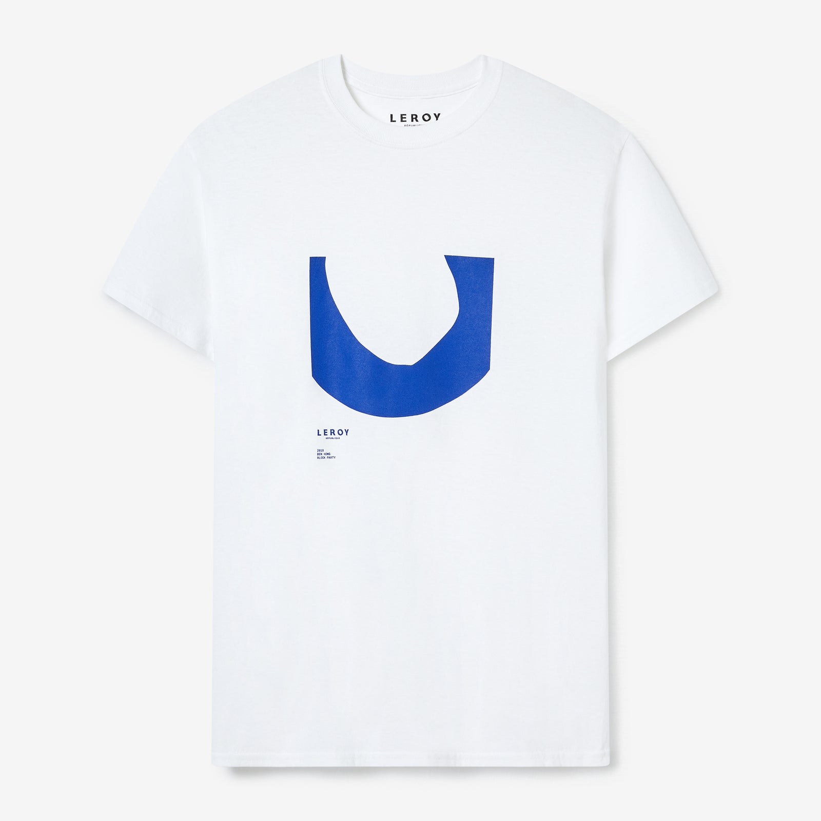 Ditch klein blue T-shirt