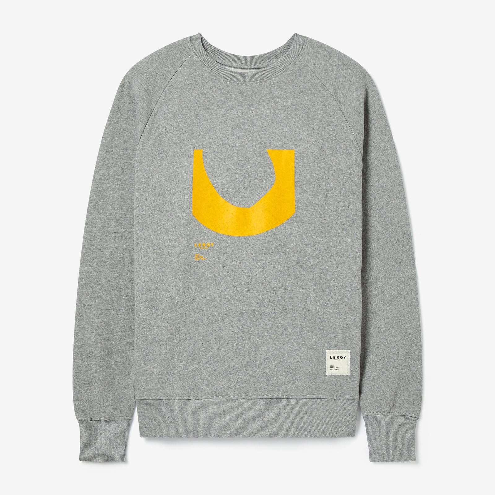 Ditch warm yellow crew neck