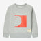 HALFPIPE kid bright red crew neck