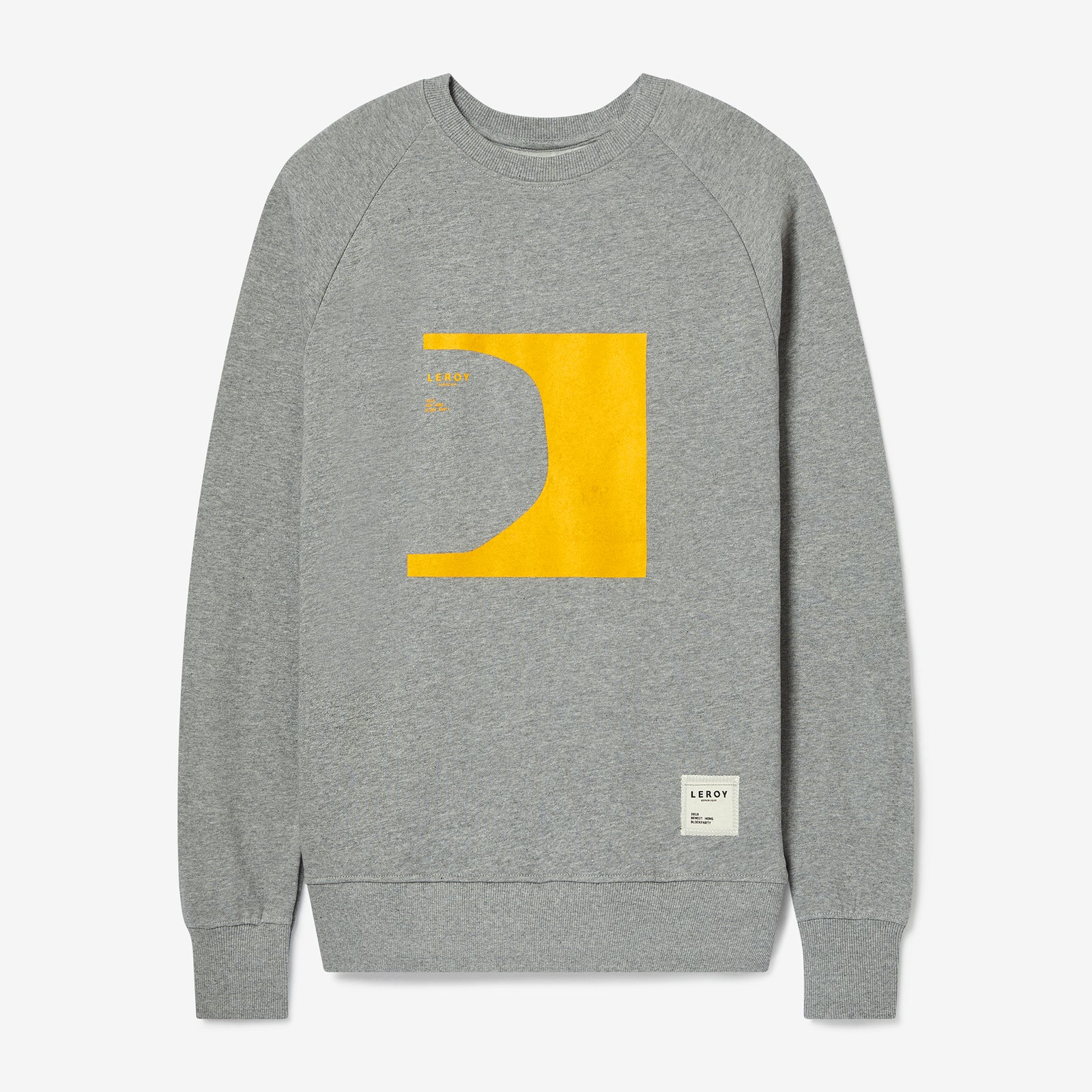 Halfpipe warm yellow crew neck