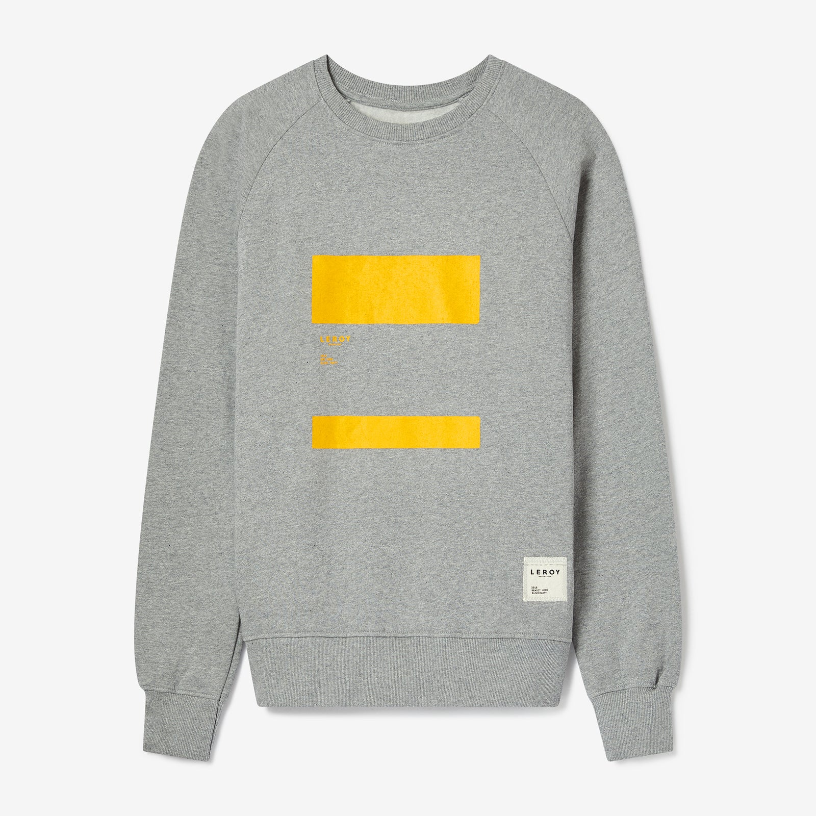 Ledge warm yellow crew neck