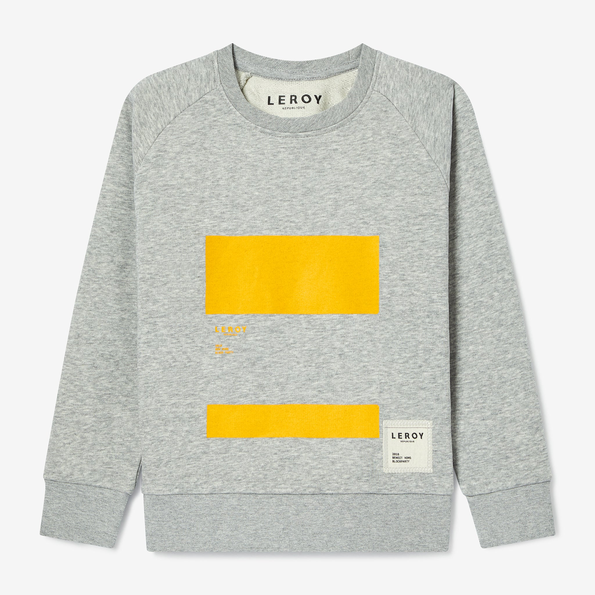 Ledge kid warm yellow crew neck