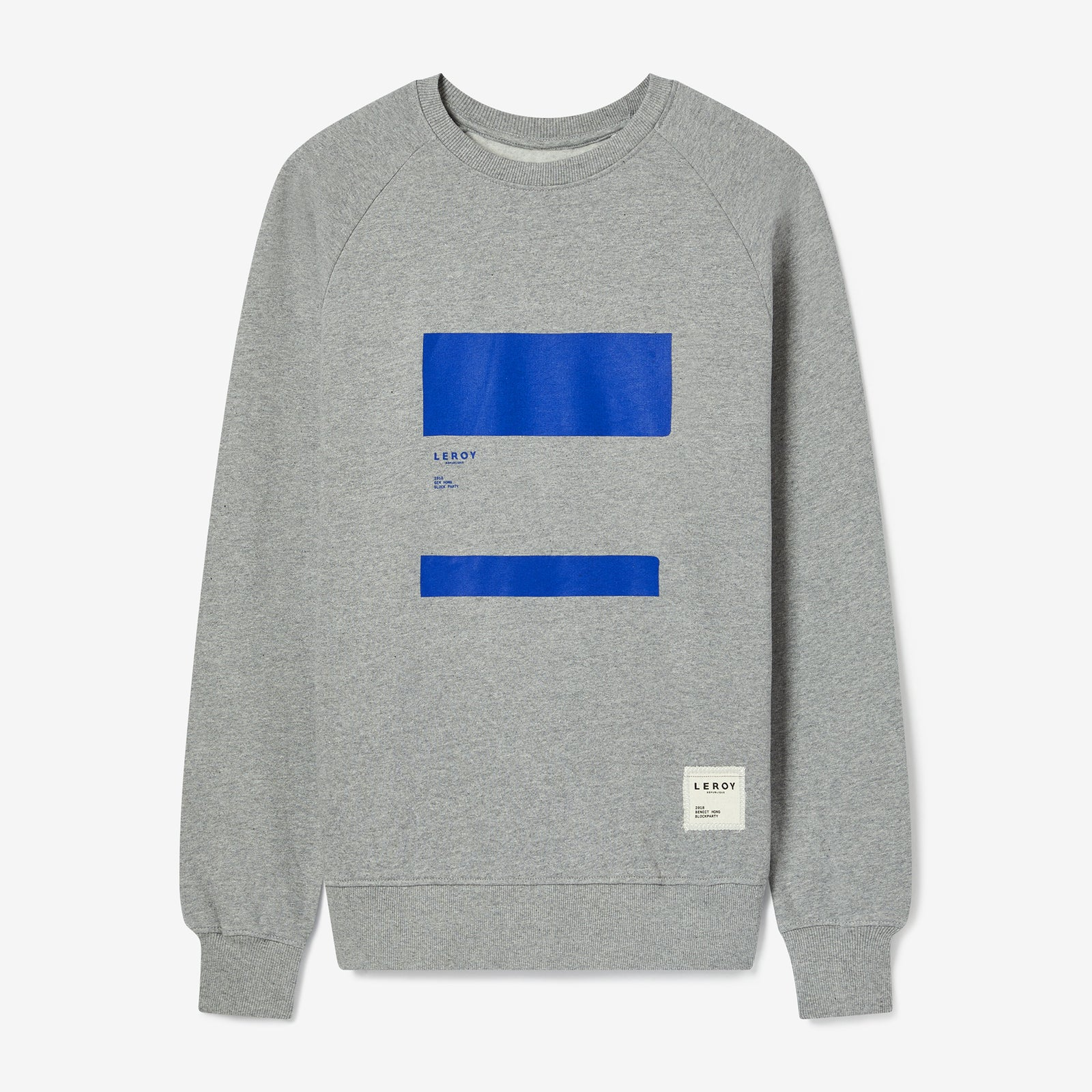 Ledge klein blue crew neck