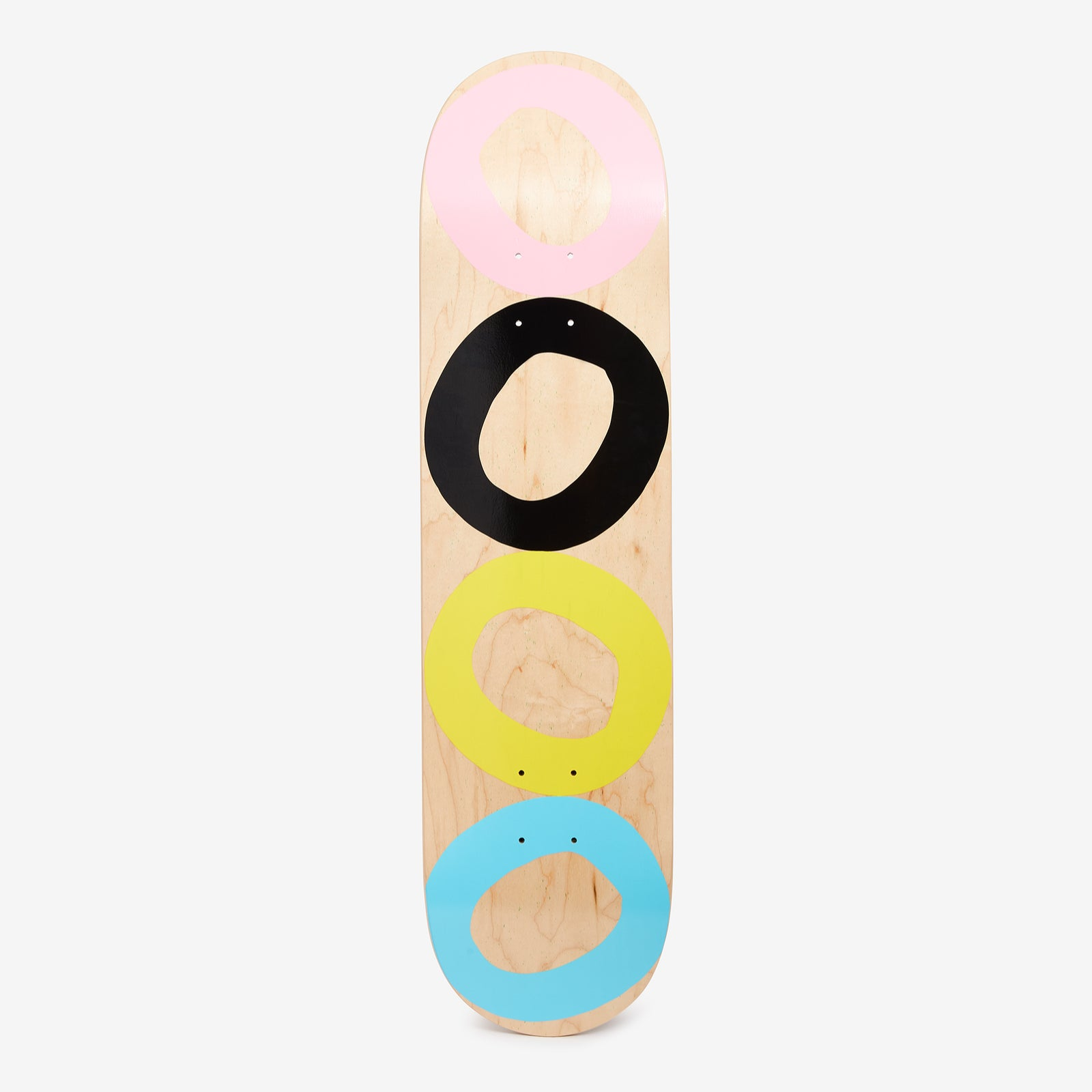 Board 4 wheels color 8'5