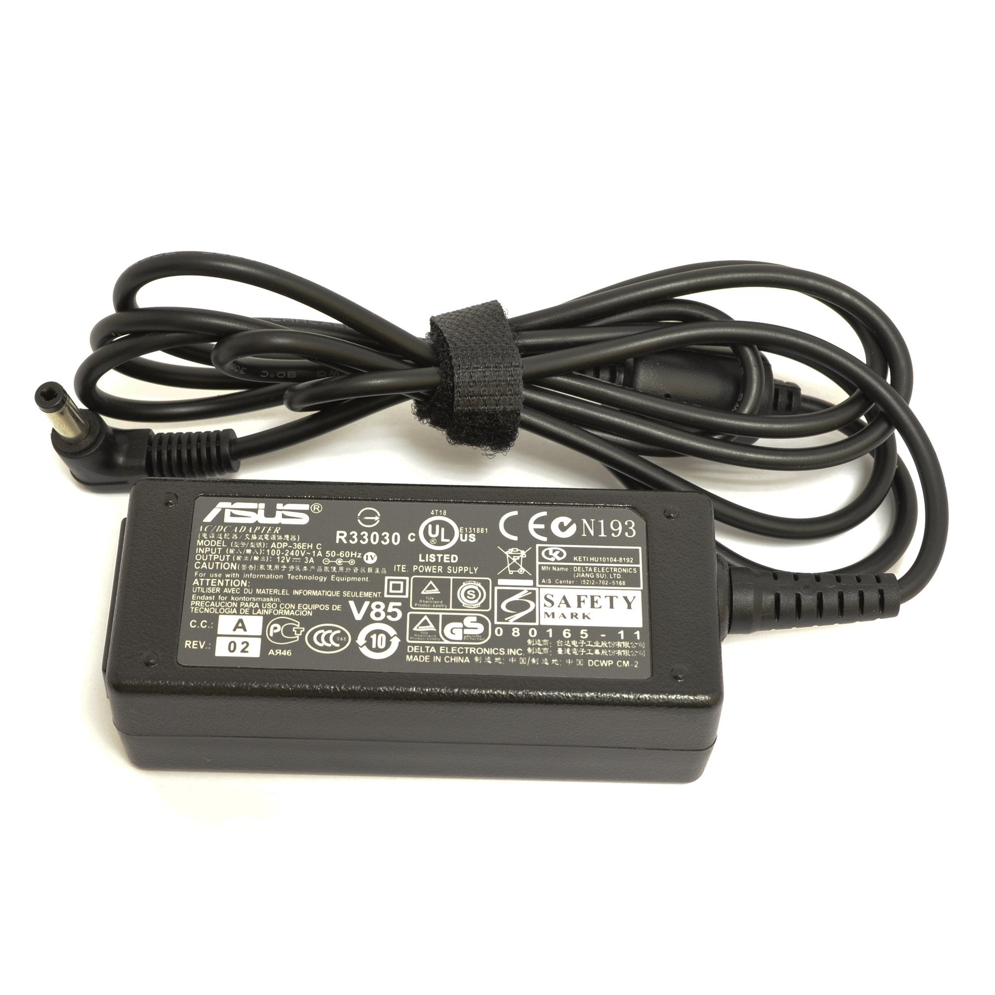 Asus Eee PC 20G 900 Laptop AC Adapter Charger
