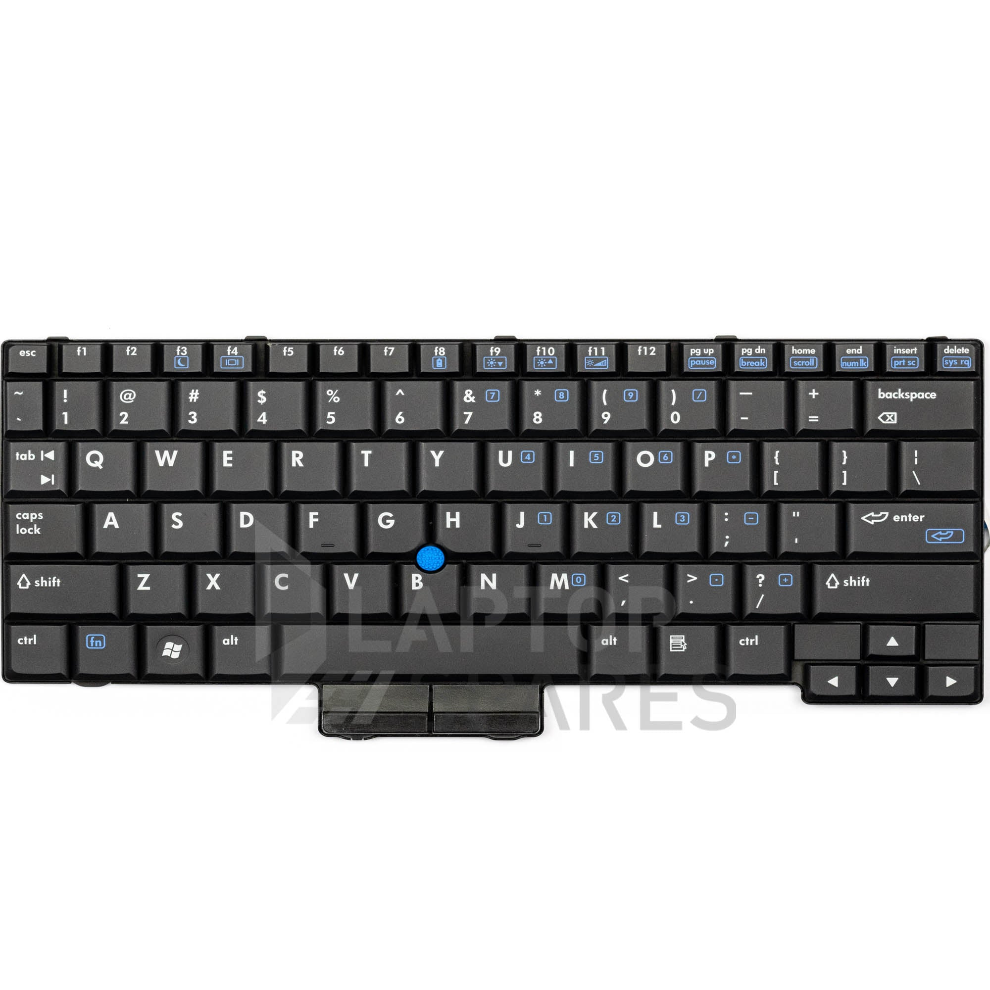 HP EliteBook 2530P 506677-001 Laptop Keyboard