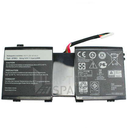 Dell Alienware M18X R3 2F8K3 5200mAh 8 Cell Battery