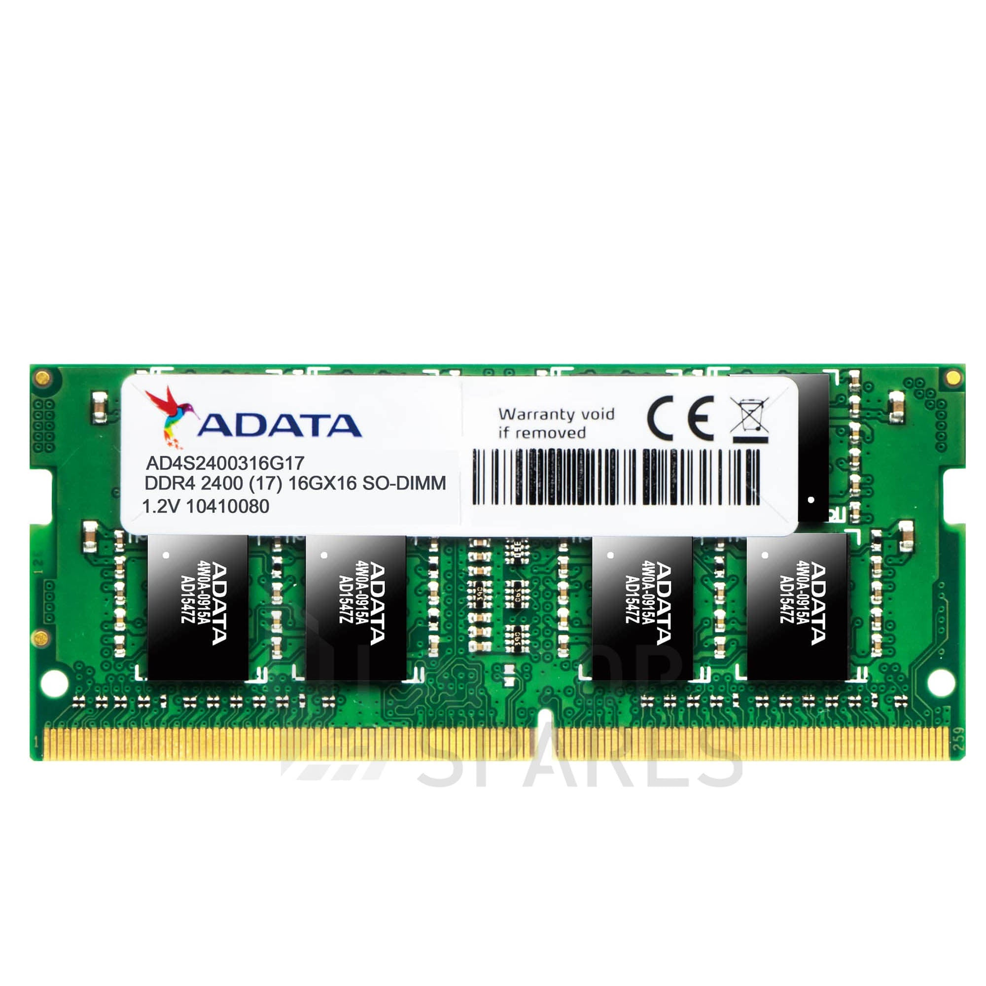 ADATA 8GB DDR4 2400MHz SO-DIMM LAPTOP RAM