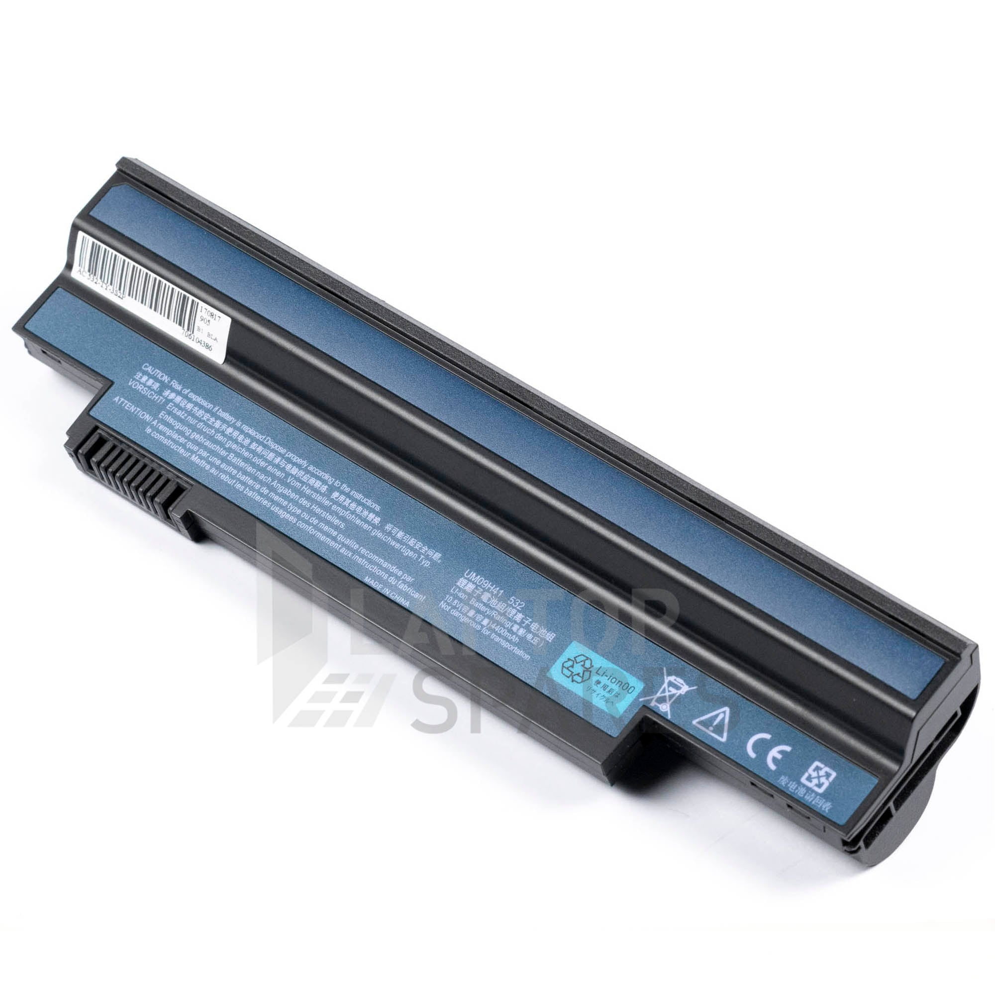 Acer Aspire One 532 4400mAh 6 Cell Battery
