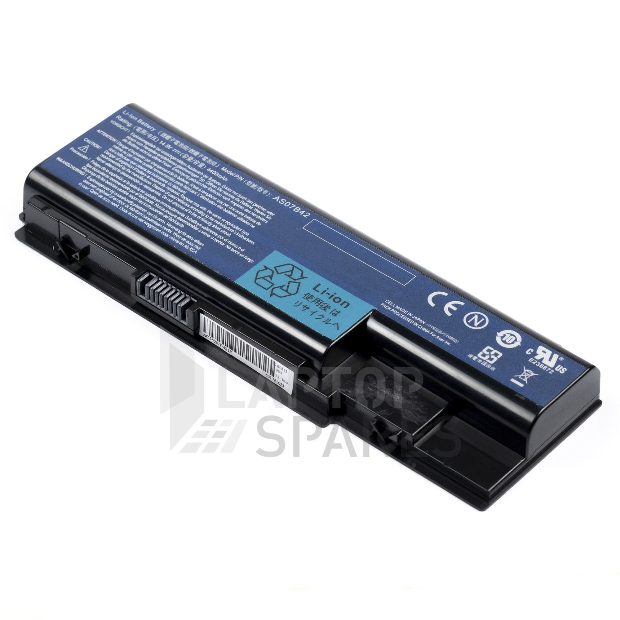 Acer Aspire 5710 5720 5739 4400mAh 6 Cell Battery