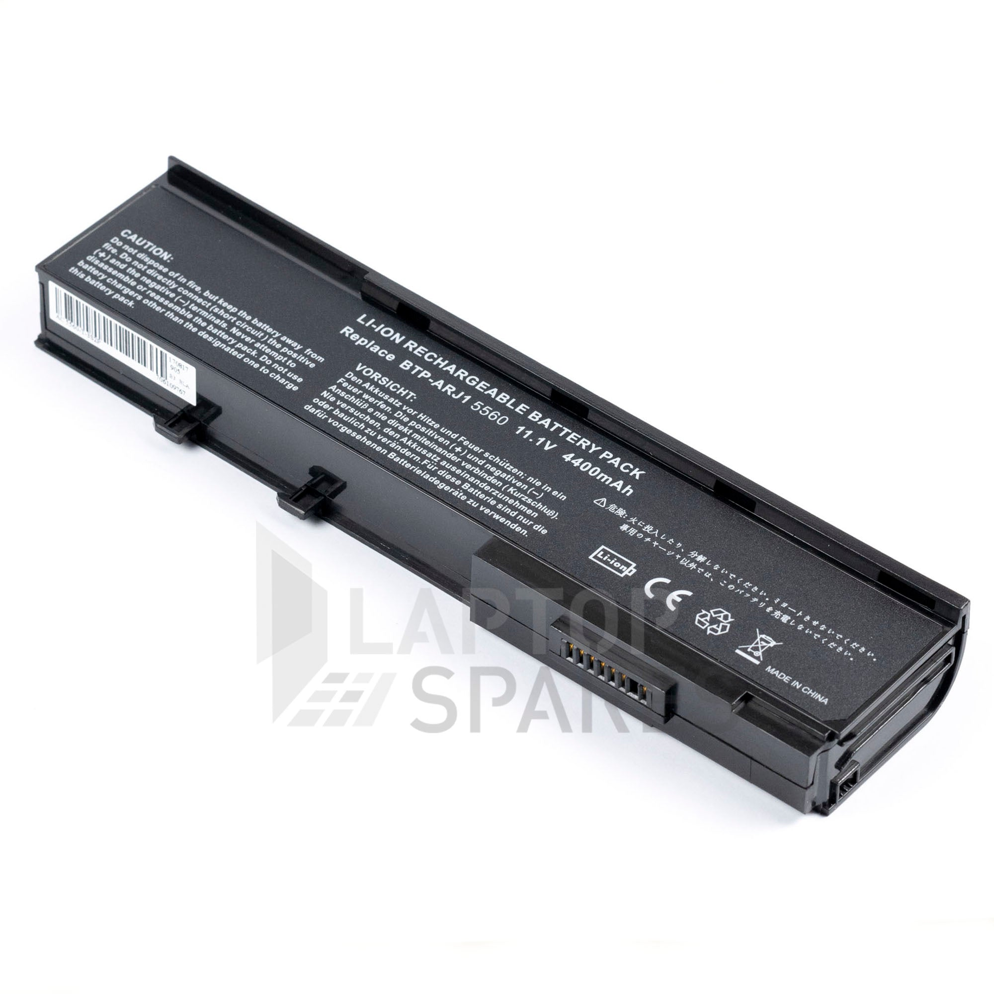 Acer Aspire 5560 4400mAh 6 Cell Battery