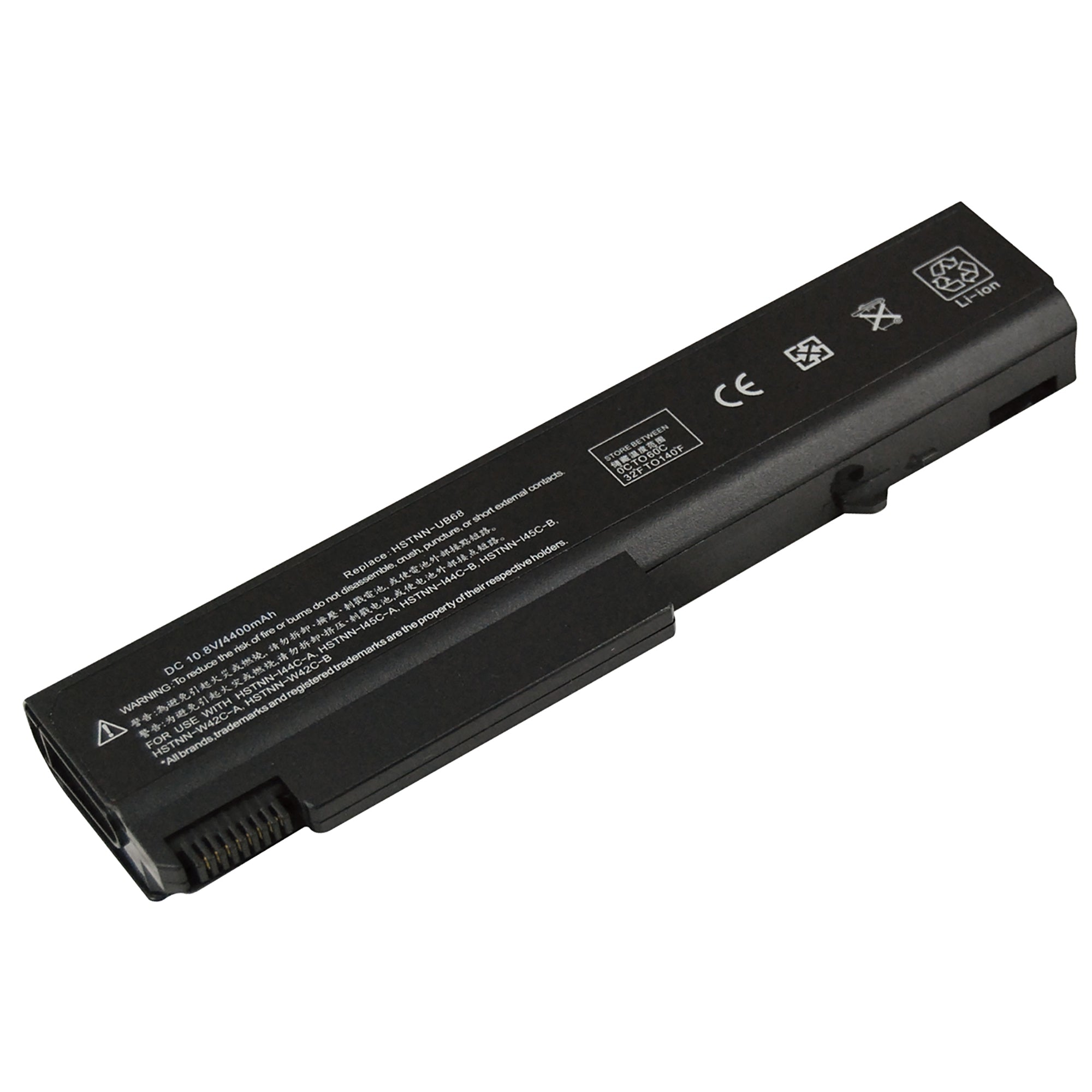 HP HSTNN-UB68 458640-542 484786-001 4400mAh 6 Cell Battery