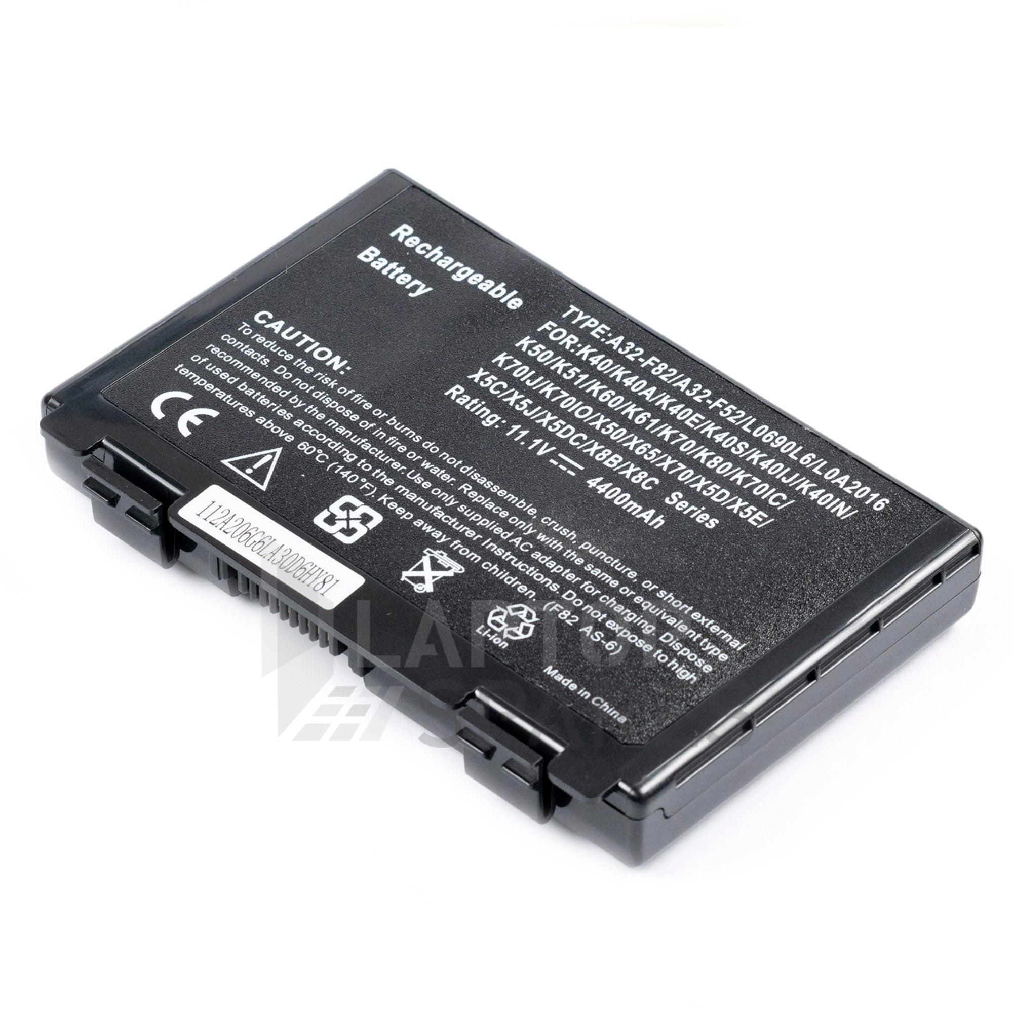Asus F82 A32-F82 NoteBook 4400mAh 6 Cell Battery