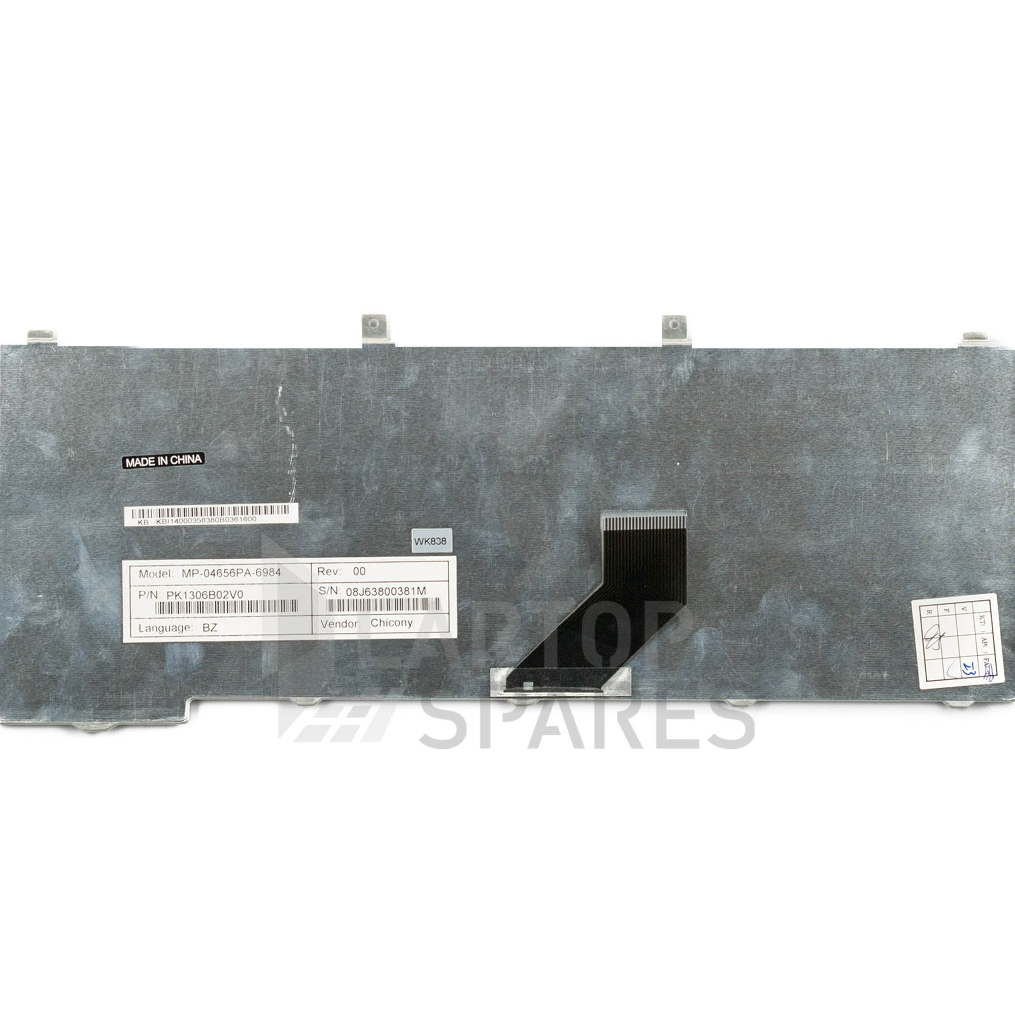 Acer Aspire 3100 Laptop Keyboard