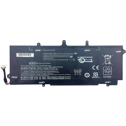 HP EliteBook Folio 1040 G1 G2 BL06XL 3783mAh Battery