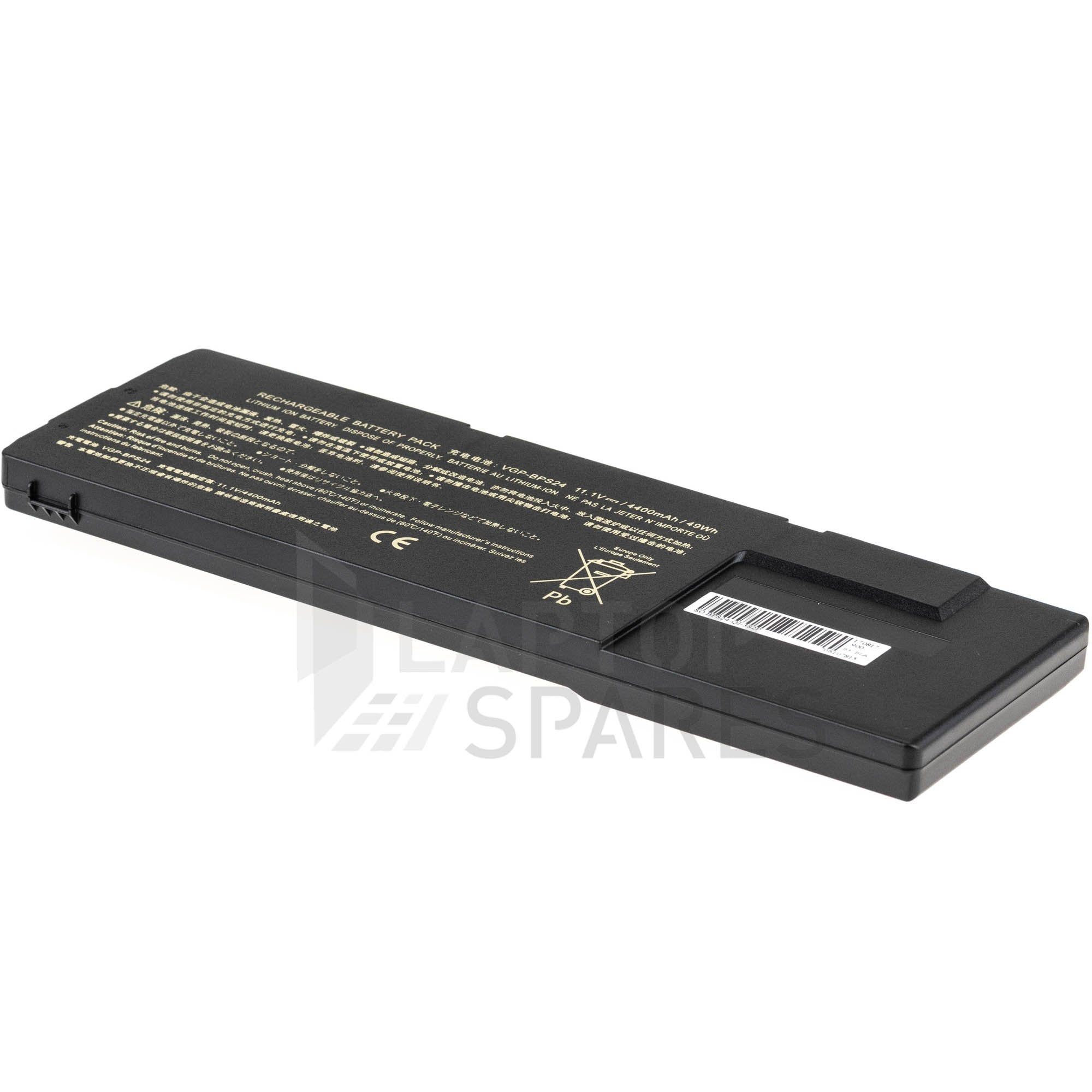 Sony Vaio VPC SB4S9E SB4V9E 4400mAh 6 Cell Battery