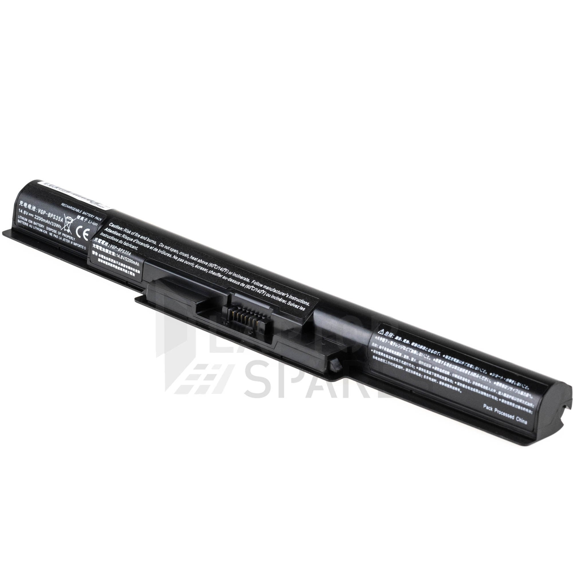 Sony Vaio F1521V6CW F1521V9CB 2200mAh 4 Cell Battery