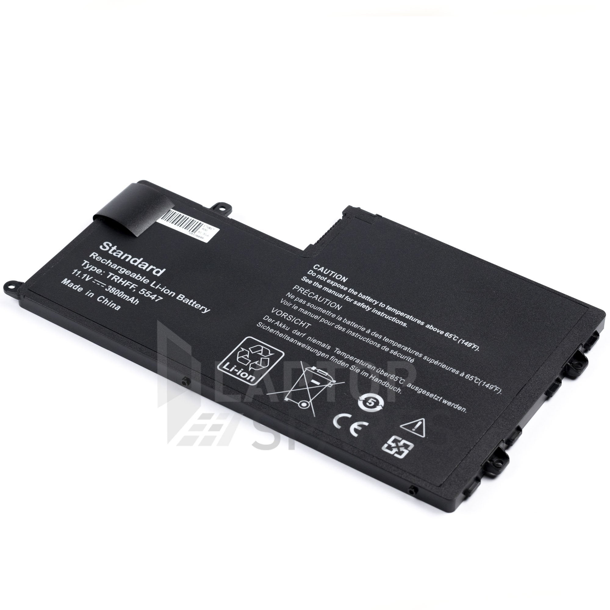 Dell 1V2F6 1WWHW 58DP4 3800mAh 3 Cell Battery