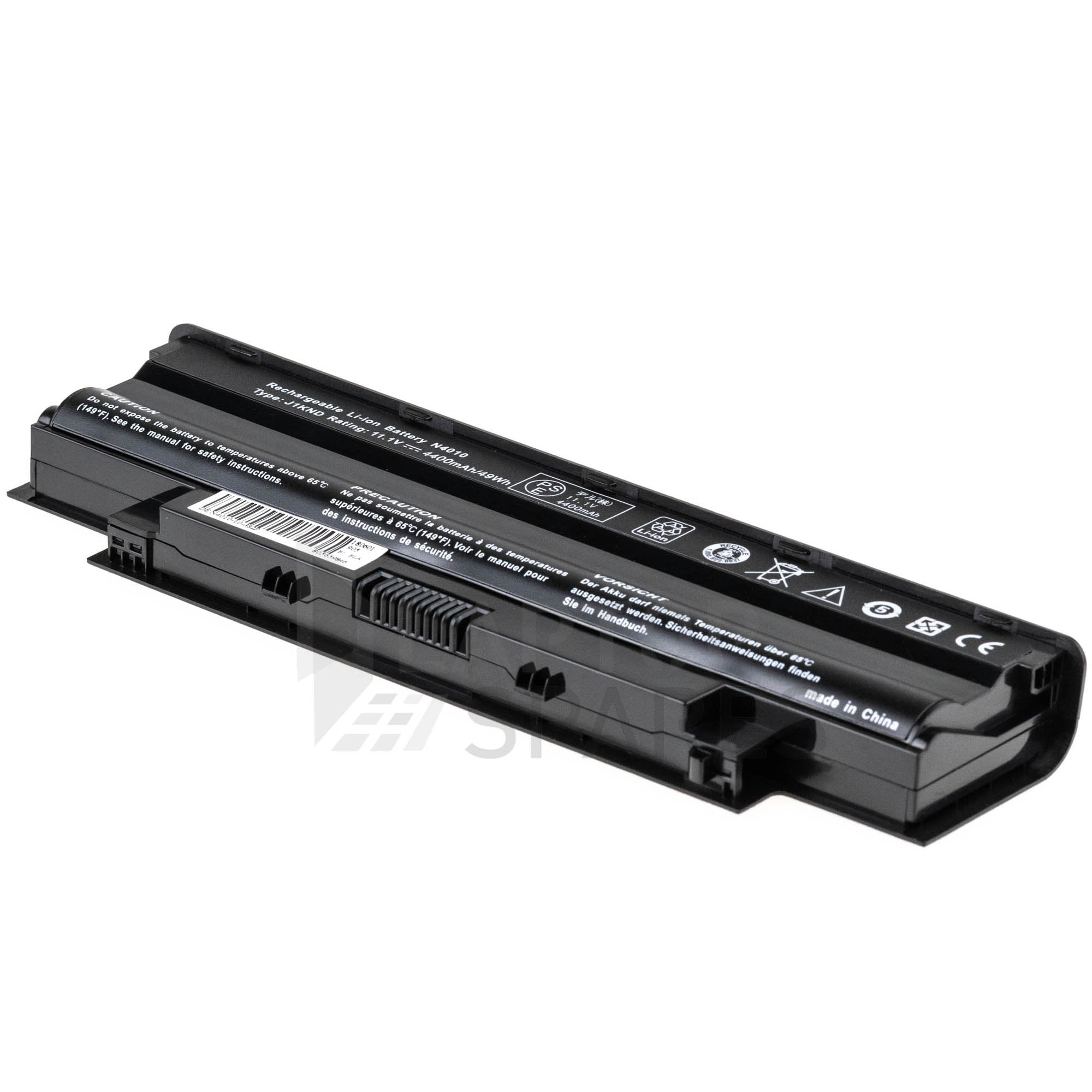 Dell Inspiron 14R 4010-D382 4400mAh 6 Cell Battery