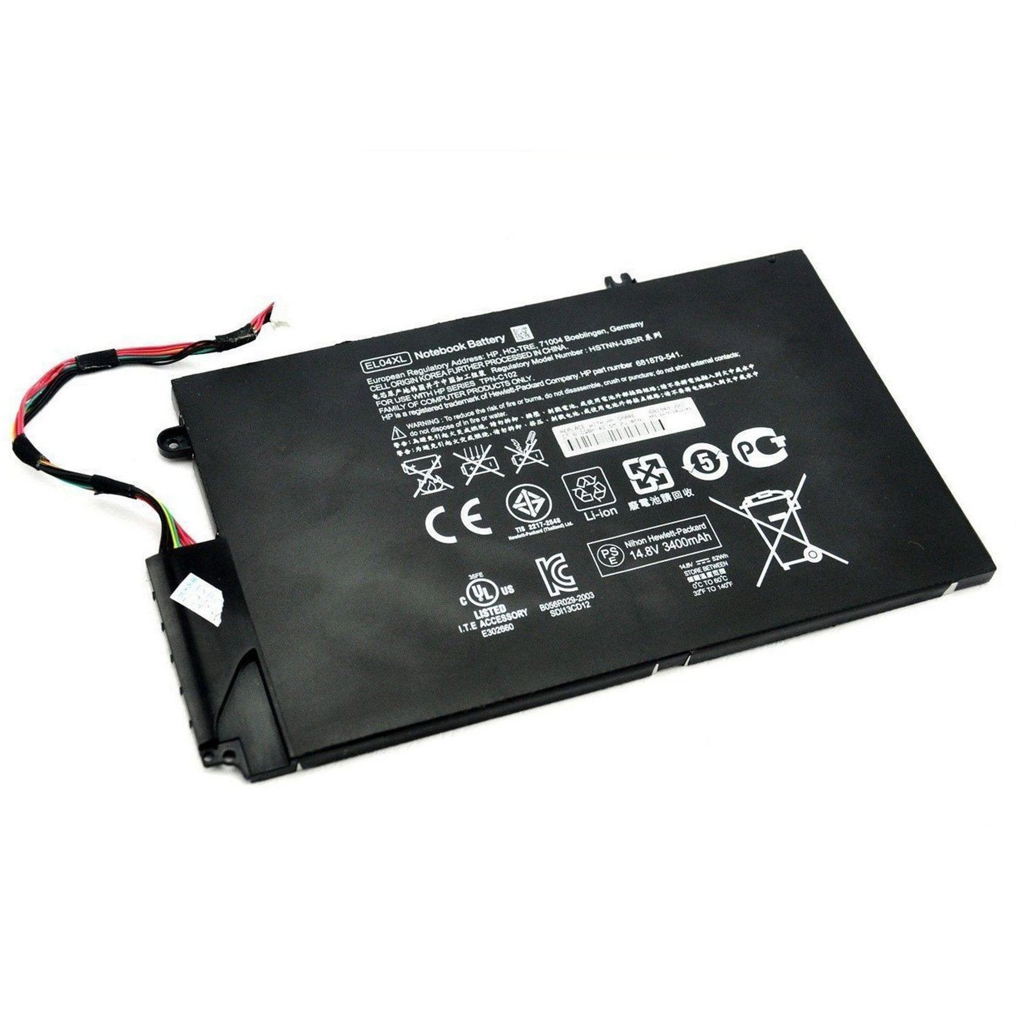 HP Envy Ultrabook 4-1150br 3500mAh 4 Cell Battery
